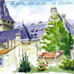 Carnet de voyage, Angoulème 1