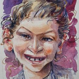 Carnet de voyage, portrait 1