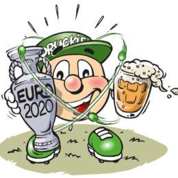 Personnage Druckie, Euro 2020