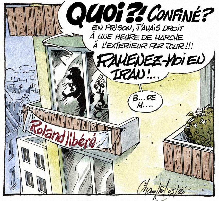 Libération du chercheur Roland MARCHAL