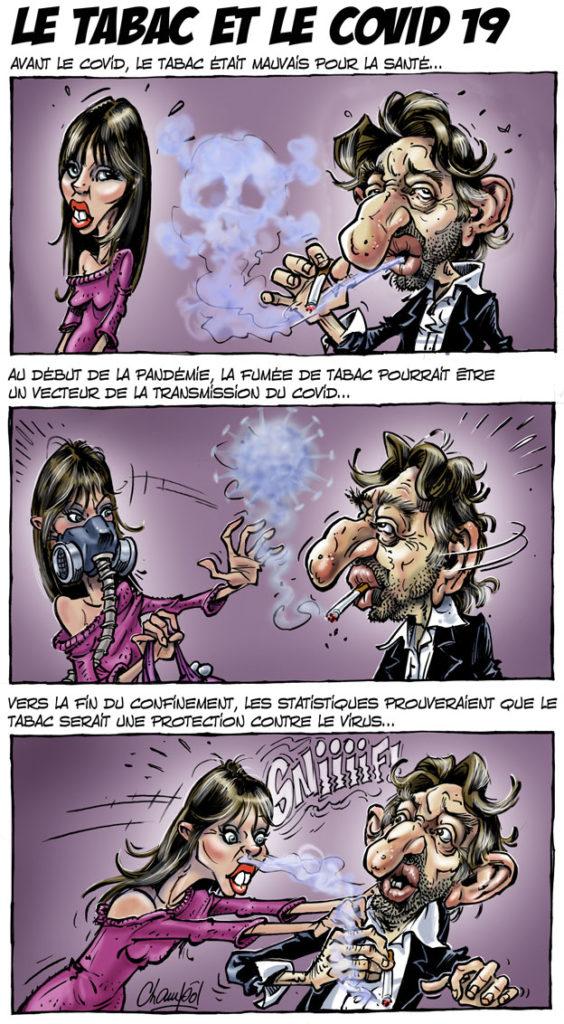 Le tabac et le covid 19