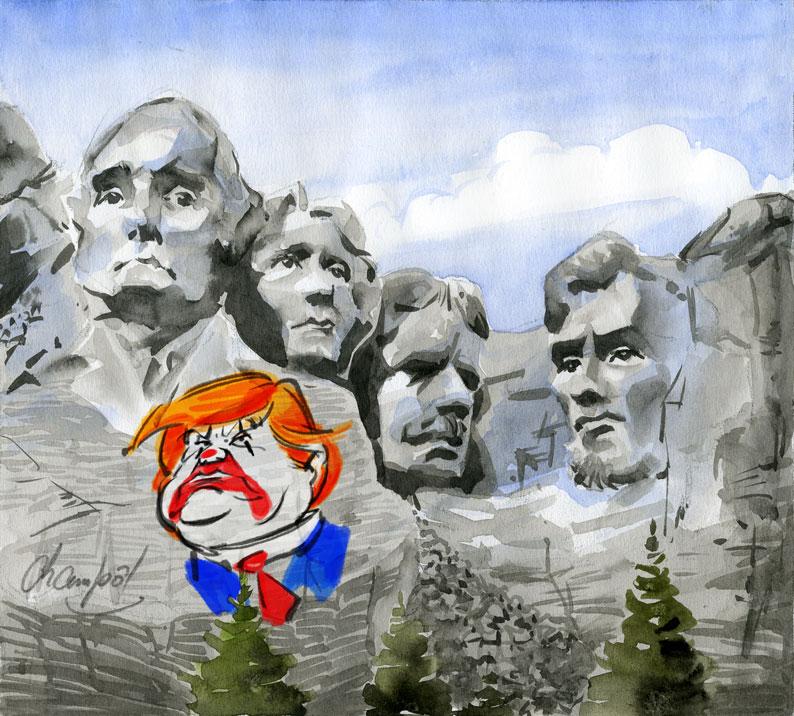 Mound Rushmore